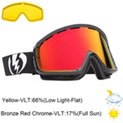 Electric EGB2 Goggles 2013, Gloss Black-Bronze Red Chrome, medium
