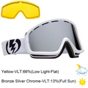 Electric EGB2 Goggles 2013, Gloss White-Bronze Silver Chro, medium