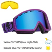 Electric EGB2 Goggles 2013, Royal Purple-Bronze Blue Chrom, medium