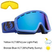 Electric EGB2 Goggles 2013, Icy Blue-Bronze Blue Chrome, medium