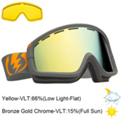 Electric EGB2 Goggles 2013, Panzer Grey-Bronze Gold Chrome, medium