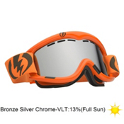 Electric EG1 Goggles 2013, Blood Orange-Bronze Silver Chr, medium