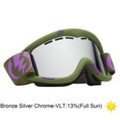 Electric EG1 Goggles 2013, Field Drab-Bronze Silver Chrom, medium