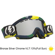 Electric EG1 Goggles 2013, Disorganize-Bronze Silver Chro, medium