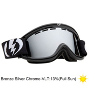 Electric EG.5 Goggles 2013, Gloss Black-Bronze Silver Chro, medium
