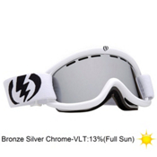 Electric EG.5 Goggles 2013, Gloss White-Bronze Silver Chro, medium