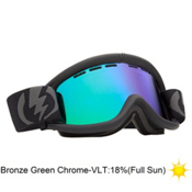 Electric EG.5 Goggles 2013, Jet Exhaust-Bronze Green Chrom, medium