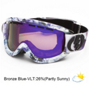 Electric EG.5 Goggles 2013, Singularity-Bronze Blue Chrome, medium