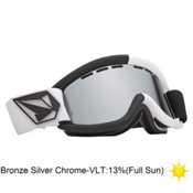 Electric EG.5 Volcom Co-Lab Goggles 2013, V.co Lab-Bronze Silver Chrome, medium