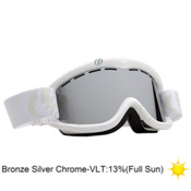 Electric EG1K Kids Goggles 2013, Gloss White-Bronze Silver Chro, medium