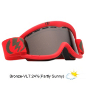 Electric EG1K Kids Goggles 2013, Insignia Red-Bronze, medium