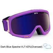 Spy Bias Womens Goggles 2013, Ultra Purple-Branze Dark Blue, medium