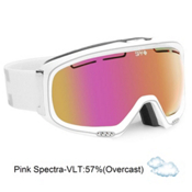 Spy Bias Womens Goggles 2013, White Diamond-Pink Pink Spectr, medium