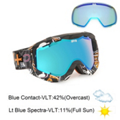 Spy Zed Goggles 2013, Honkeykong-Bronze Lt Blue Spec, medium