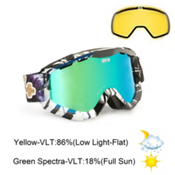 Spy Zed Goggles 2013, Yes+dcp-Bronze Green Spectra, medium