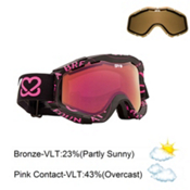 Spy Zed Goggles 2013, Keep A Breast-Pink Pink Spectr, medium