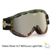 Spy Targa 3 Goggles 2013, Sailin On-Yellow Silver Mirror, medium