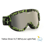 Spy Targa 3 Goggles 2013, Scribe-Yellow Silver Mirror, medium