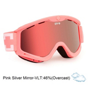 Spy Targa 3 Goggles 2013, Ultra Melon-Pink Silver Mirror, medium