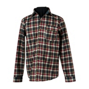 Obermeyer Topher Windshirt Mens Mid Layer, Lumberjack Plaid, medium