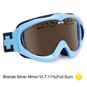 Spy Targa Mini Kids Goggles 2013, Blizzard Blue-Blue Silver Mirr, medium