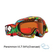 Spy Targa Mini Kids Goggles 2013, Dino Jr-Persimmon, medium