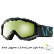 Anon Figment Goggles 2013, Bluerayz-Blue Lagoon, medium