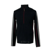 Obermeyer Heli Mens Sweater, Black, medium