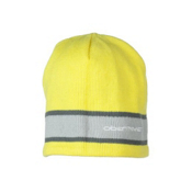 Obermeyer Highlands Knit Hat, Acid Yellow, medium