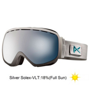 Anon Somerset Womens Goggles 2013, Grey Emblem-Silver Solex, medium