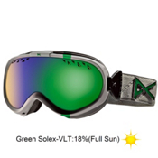 Anon Solace Womens Goggles 2013, Misty Emblem-Green Solex, medium