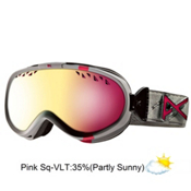 Anon Solace Womens Goggles 2013, Misty Emblem-Pink Sq, medium