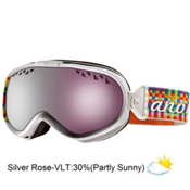 Anon Solace Womens Goggles 2013, Weaver-Silver Rose, medium
