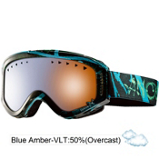 Anon Tracker Kids Goggles 2013, Bluerayz-Blue Amber, medium