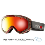 Anon Tracker Kids Goggles 2013, Bonzai-Red Amber, medium