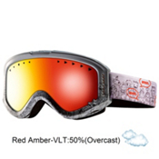 Anon Tracker Kids Goggles 2013, Flashmob-Red Amber, medium