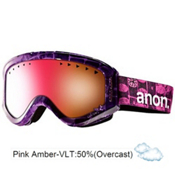 Anon Tracker Girls Goggles 2013, Cellbloc-Pink Amber, medium