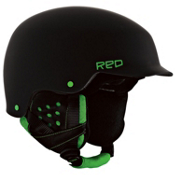 R.E.D. Mutiny Helmet 2013, Black-Green, medium
