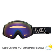 Vonzipper El Kabong Goggles 2013, Black Satin-Astro Chrome, medium