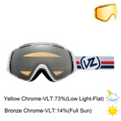 Vonzipper El Kabong Goggles 2013, Backscratcher-Bronze Chrome, medium