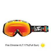 Vonzipper El Kabong Goggles 2013, Double Rainbow-Fire Chrome, medium
