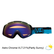 Vonzipper El Kabong Frosteez Goggles 2013, Frosteez Purple Blue-Astro Chrome, medium