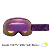 Vonzipper Fishbowl Goggles 2013, Vurple Chrome-Bronze Pink Chro, medium