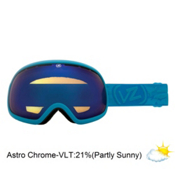 Vonzipper Fishbowl Goggles 2013, Blue Satin-Astro Chrome, medium