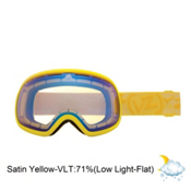 Vonzipper Fishbowl Goggles 2013, Lemondrop Satin-Yellow Chrome, medium