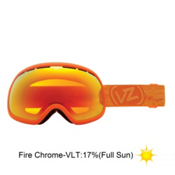 Vonzipper Fishbowl Goggles 2013, Tangerine Satin-Fire Chrome, medium