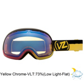 Vonzipper Fishbowl Frosteez Goggles 2013, Frosteez Pink Yellow-Yellow Chrome, medium