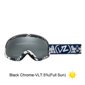 Vonzipper Skylab Goggles 2013, Kushflake Navy-Black Chrome, medium