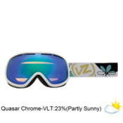 Vonzipper Chakra Womens Goggles 2013, Ladyflower-Quasar Chrome, medium