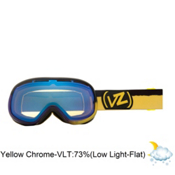 Vonzipper Chakra Frosteez Womens Goggles 2013, Frosteez Puple Yellow-Yellow Chrome, medium